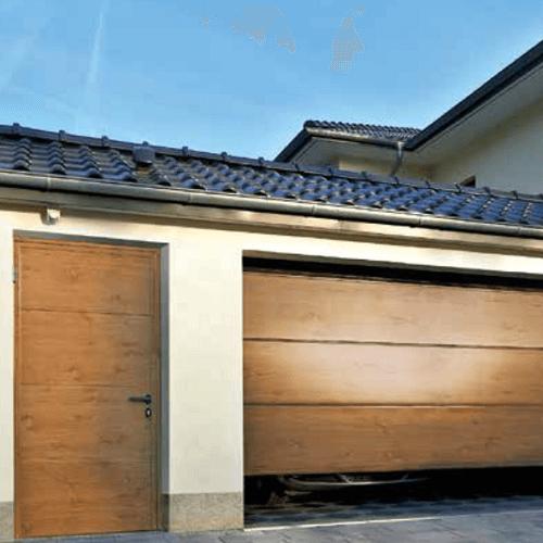 Drzwi garażowe boczne