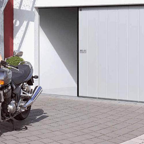Bramy garażowe segmentowe boczne