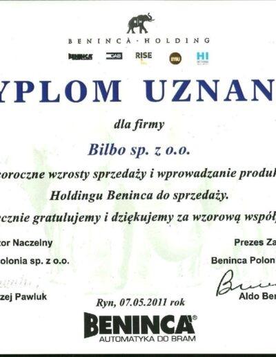 dyplom_uznania_beninca