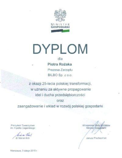 dypolom_minister_gospodarki_uznanie_za_rozwój_gospodarki