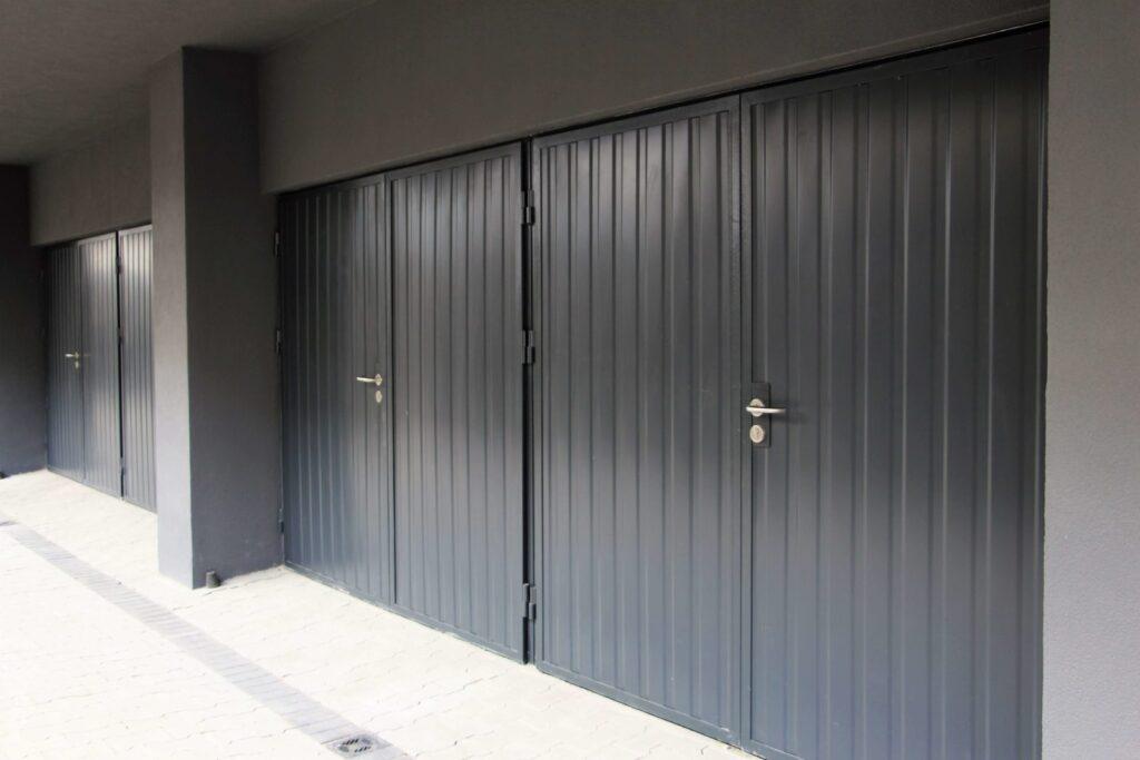 Brama do garażów zbiorczych