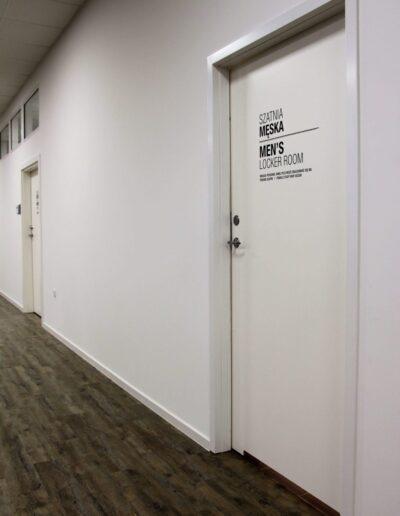 Drzwi wewnętrzne techniczne