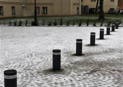 słupki parkingowe rise beninca