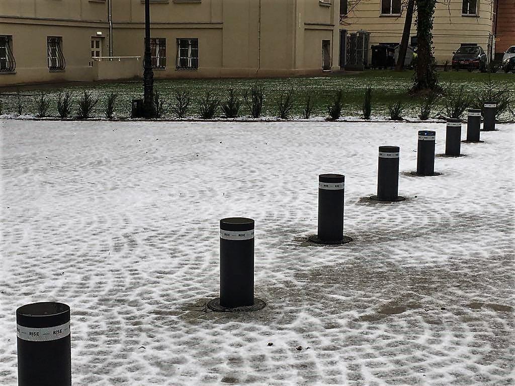 słupki parkingowe rise beninca Poznań