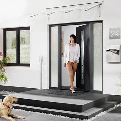 Drzwi zewnętrzne Hormann